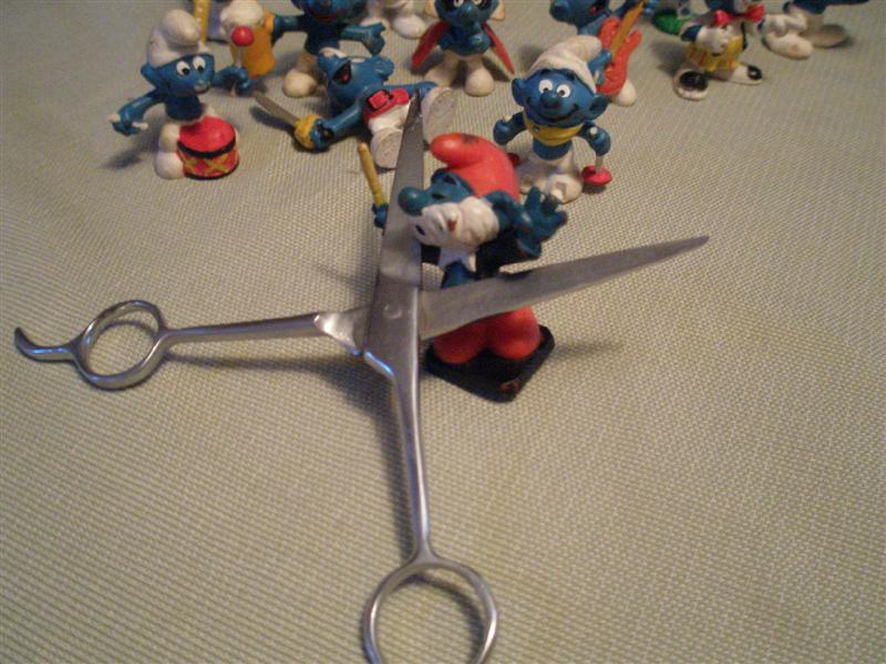 Christians smurfs (Medium)
